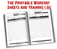 21 day fast mass building work sheet