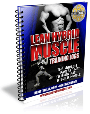 lean hybrid muscle training log