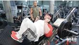 mi40x CEP training for legs