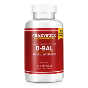 D-Bal muscle building supplement bottle