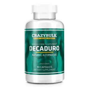 Decaduro Muscle Bulking Supplement bottle