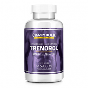 Trenorol Muscle Bulking Supplement bottle