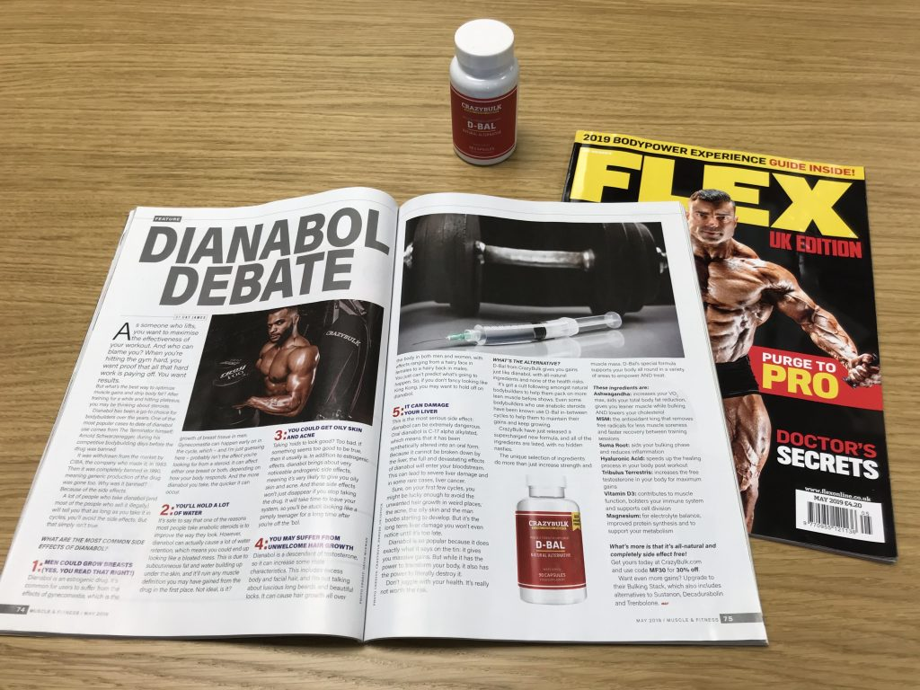 Dianabol debate news article in Muscle and Fitness